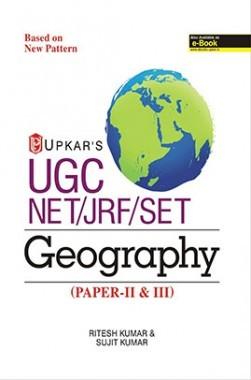 UGC NET/JRF/SET Geography (Paper-II And III)