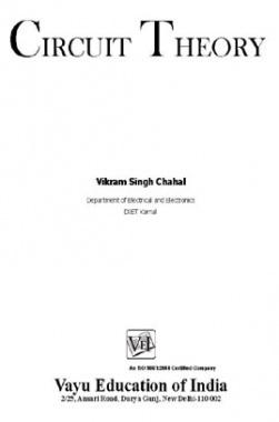 Circuit Theory By Vikram Singh Chahal