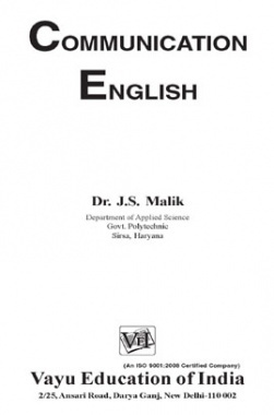 Communication English By Dr. J.S. Malik