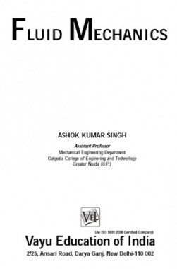 Fluid Mechanics By A.K. Singh