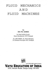 Your search for theory of machines i by dr rknsal matches fluid mechanics and fluid machines by dr pn darde fandeluxe