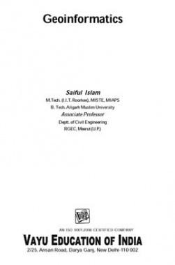 Geoinformatics By Saiful Islam