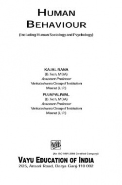 Human Behaviour By Kajal Rana, Puja Paliwal