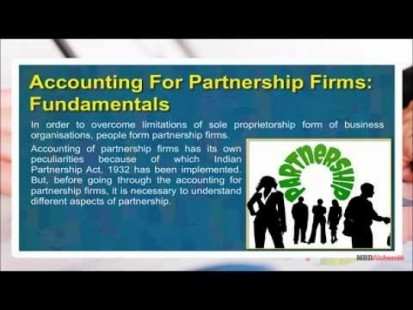 Class 12 Accounts - Accounting For Partnership Firms - Fundamentals Video by MBD Publishers