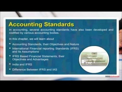 Class 11 Accounts - Accounting Standards Video by MBD Publishers