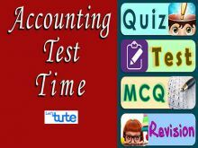Class 11 Accountancy - Accounting Test Time - Adjustment Of Accounting Video by Let's Tute