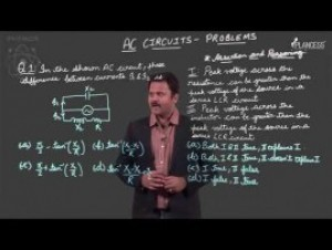 Alternating Current - AC Circuits Problems Video By Plancess