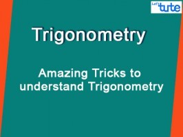 Class 10 Mathematics - Amazing Tricks To Understand Trigonometry Video by Lets Tute