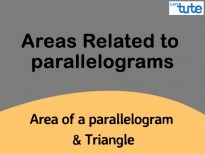 Class IX Maths - Area Of A Parallelogram And Triangle Video By Lets Tute