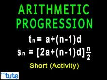 Class 10 Mathematics - Arithmetic Progression - Activity Video by Lets Tute