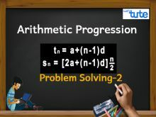 Class 10 Mathematics - Arithmetic progression Problem Solving Sn Video by Lets Tute