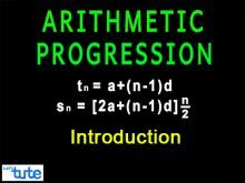 Class 10 Mathematics - Arithmetic Progressions Introduction Video by Lets Tute
