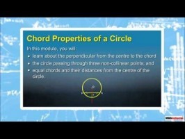Class 9 Maths - Chord Properties Of Circle Video by MBD Publishers