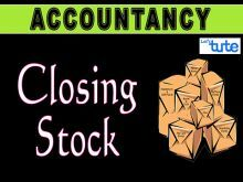 Class 11 Accountancy - Closing Stock Video by Let's Tute