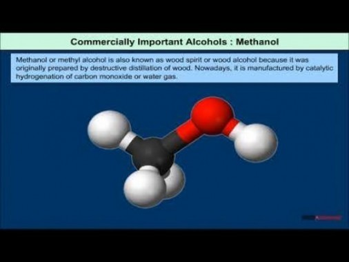 Class 12 Chemistry - Commercially Important Alcohols Video by MBD Publishers