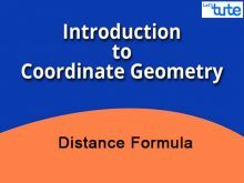 Class 10 Mathematics - Coordinate Geometry - Distance Formula Video by Lets Tute