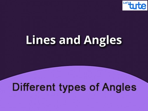 Class 9 Mathematics - Different Types Of Angles Video by Lets Tute