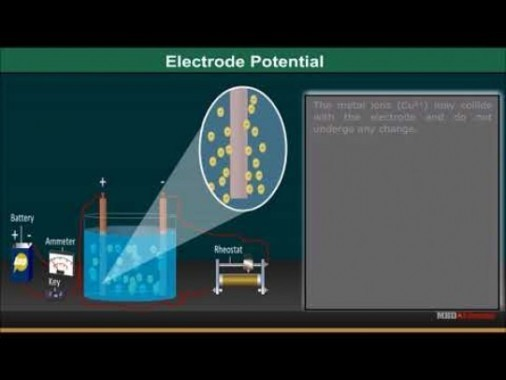 Class 12 Chemistry - Electrode Potential Video by MBD Publishers