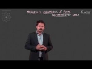 Electromagnetic Waves Final Render - Maxwells Equation & Plane EMW-I Video By Plancess