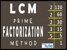 Class 10 Mathematics - Find LCM Using Prime Factorization Method Video by Lets Tute