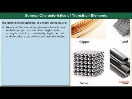 Class 12 Chemistry - General Characteristics Video by MBD Publishers