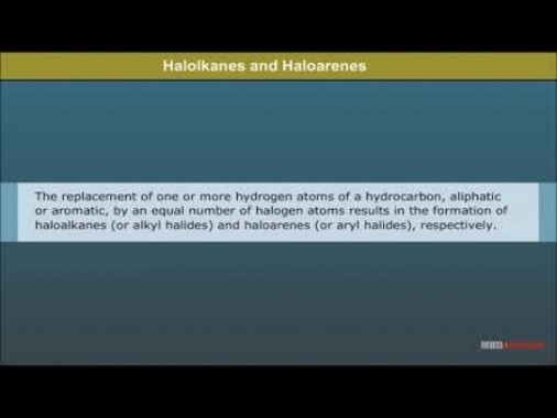 Class 12 Chemistry - Halolkanes And Halorenes Video by MBD Publishers