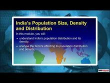 Class 9 Geography - India's Population Size, Density and Distribution Video by MBD Publishers