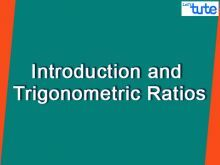 Class 10 Mathematics - Introduction And Trigonometric Ratios Video by Lets Tute
