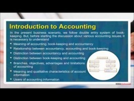 Class 11 Accounts - Introduction To Accounting Video by MBD Publishers