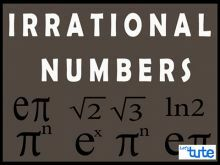 Class 10 Mathematics - Irrational Numbers And Proof That Root Of 2 Is Irrational Video by Lets Tute