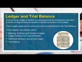 Class 11 Accounts - Ledger And Trial Balance Video by MBD Publishers