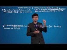 Limits Continuity And Differentiability - Tactical Problems Video By Plancess