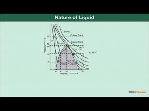 Class 11 Chemistry - Liquid State Of Matter Video by MBD Publishers