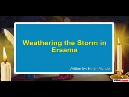 Class 9 English - Literature Moments Weathering The Storm Video by MBD Publishers