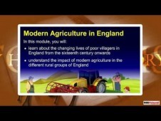 Class 9 History - Modern Agriculture In England Video by MBD Pub