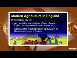 Class 9 History - Modern Agriculture In England Video by MBD Publishers