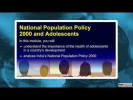 Class 9 Geography - National Population Policy 2000 And Adolescents Video by MBD Publishers