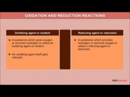 Class 11 Chemistry - Oxidation And Reduction Reactions Video by MBD Publishers