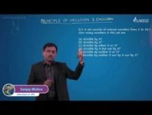 Permutations And Combinations - Principles Of Inclusion & Exclusion-II Video By Plancess