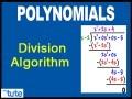 Class 10 Mathematics - Polynomials - Division Algorithm Video by Lets Tute