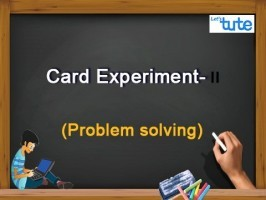 Class 10 Mathematics - Probability Card Experiment Problem Solving II Video by Lets Tute