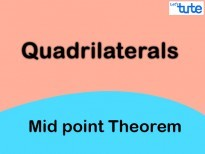 Class IX Maths - Quadrilaterals - Mid Point Theorem Video By Lets Tute