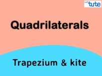 Class IX Maths - Quadrilaterals - Trapezium And Kite Video By Lets Tute