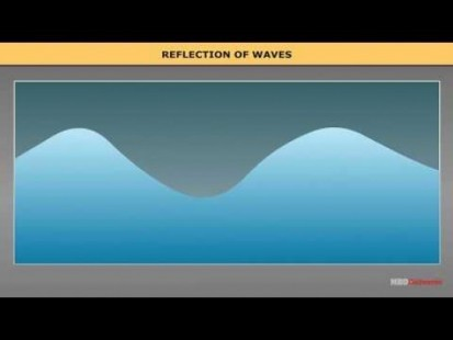 Class 11 Physics - Reflection Of Waves Video by MBD Publishers