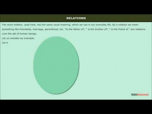 Class 12 Maths - Relations Video by MBD Publishers