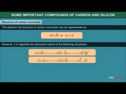 Class 11 Chemistry - Some Important Compounds Of Carbon And Silicon Video by MBD Publishers