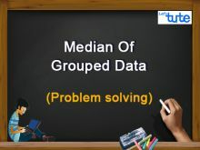 Class 10 Mathematics - Statistics - Median Of Grouped Data Problem Solving Video by Lets Tute