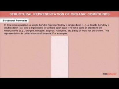 Class 11 Chemistry - Structural Representation Of Organic Compounds Video by MBD Publishers
