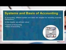 Class 11 Accounts - Systems And Basis Of Accounting Video by MBD Publishers