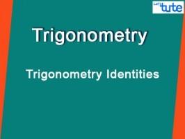 Class 10 Mathematics - Trigonometry Identities Video by Lets Tute